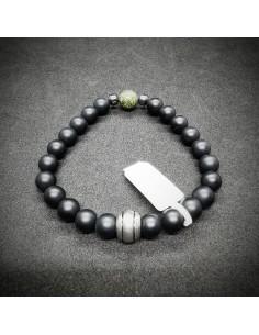 Bracelet perles 8mm pierres...